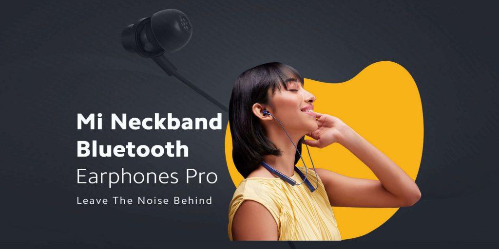 Xiaomi Mi Neckband Bluetooth Earphones Pro - bezdrátová sluchátka