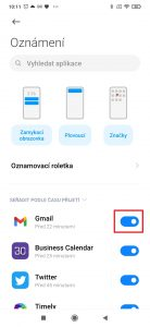 Zakázat zobrazování oznámení aplikací