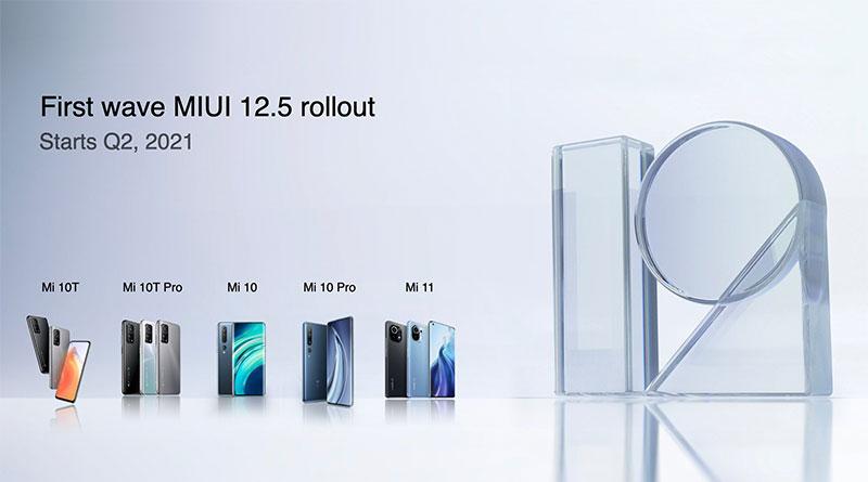 Kdy dostane váš telefon MIUI 12.5? Známe termíny globálních aktualizací!