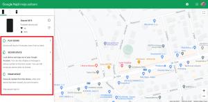 Dostupné funkce, jak najít ztracený nebo ukradený telefon