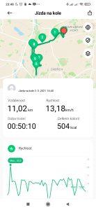 Informace k jízdě na kole 1