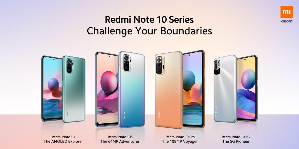 Nová řada Redmi Note 10