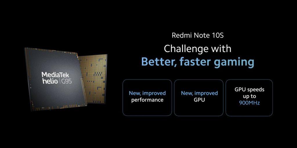 Osmijádrový čip Mediatek Helio G95