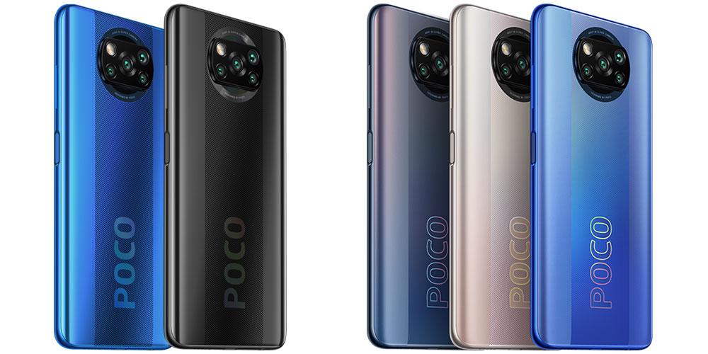 Poco X3 (vlevo) a Poco X3 Pro (vpravo)