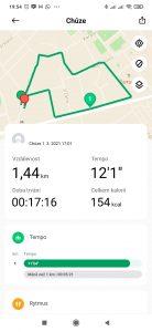 Procházka s hodinkami Xiaomi Mi Watch