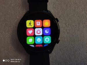 Seznam aplikací v hodinkách Mi Watch