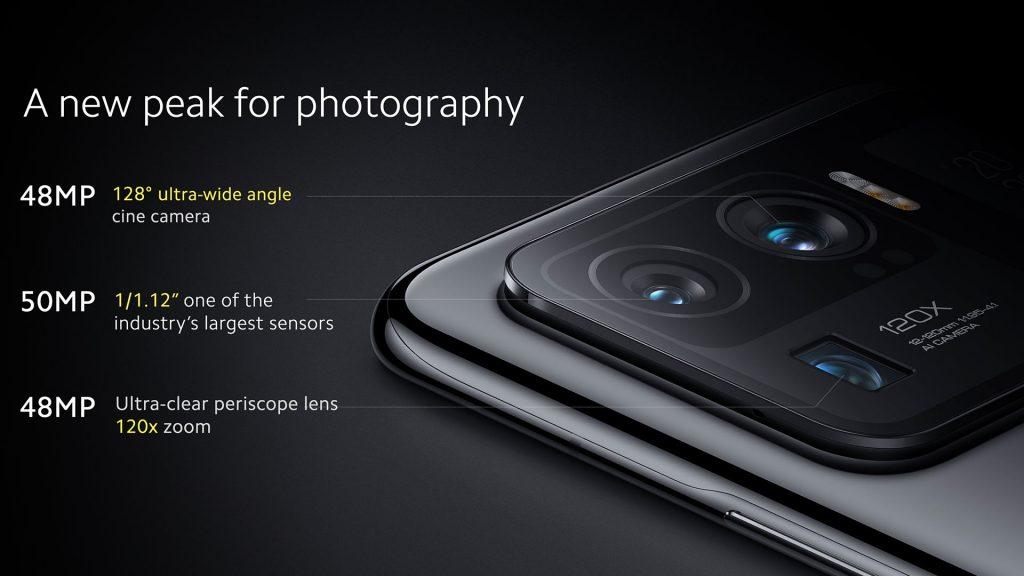 Tři zadní fotoaparáty