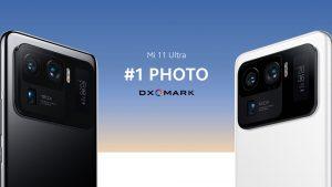 Xiaomi Mi 11 Ultra je jednička v DxOMarku