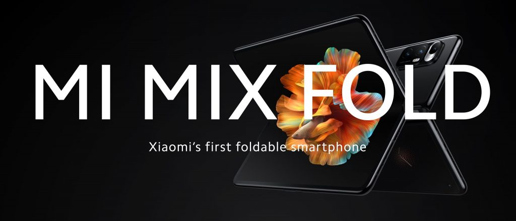 Xiaomi Mi MIX FOLD - revoluční ohebný telefon s kapalnou čočkou
