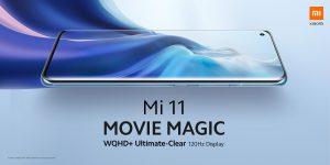 6,81 palců a 120 Hz u Xiaomi Mi 11