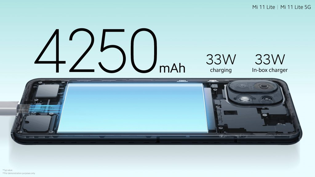 Baterie s kapacitou 4250 mAh