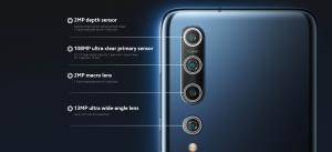 Fotografická výbava Xiaomi Mi 10