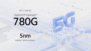 Mi 11 Lite 5G pohání Snapdragon 780G