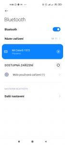 Nastavení Bluetooth