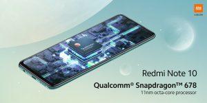 Redmi Note 10 pohání Qualcomm Snapdragon 678