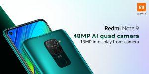 Redmi Note 9 má 48Mpx fotoaparát