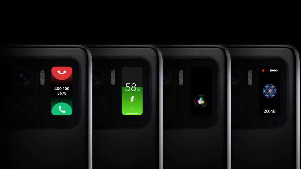 Sekundární displej Xiaomi Mi 11 Ultra