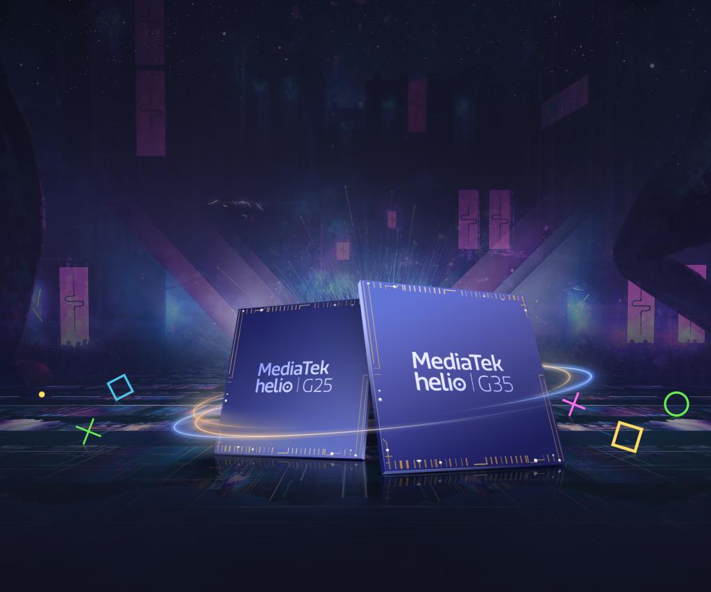 Srdcem obou telefonů je MediaTek Helio G35