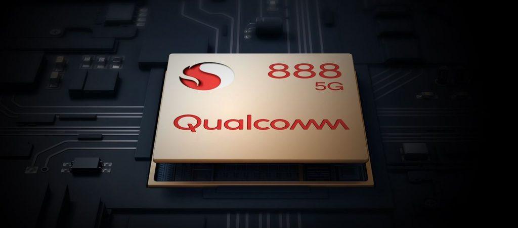 Srdcem telefonu osmijádrový Qualcomm Snapdragon 888
