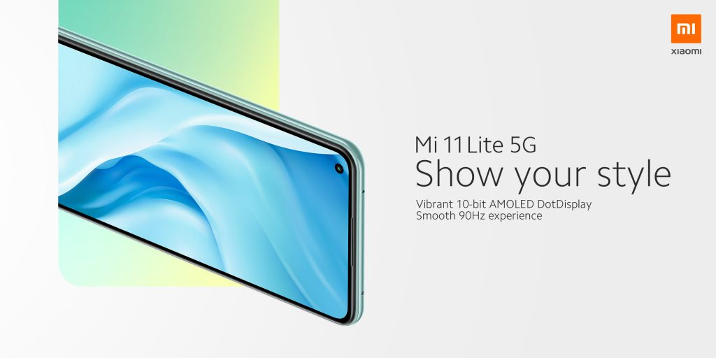 Také Mi 11 Lite 5G má AMOLED obrazovku