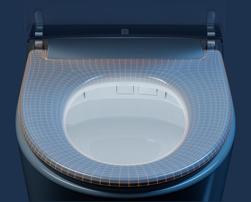 Xiaomi DIIIB Supercharged Smart Toilet - záchod