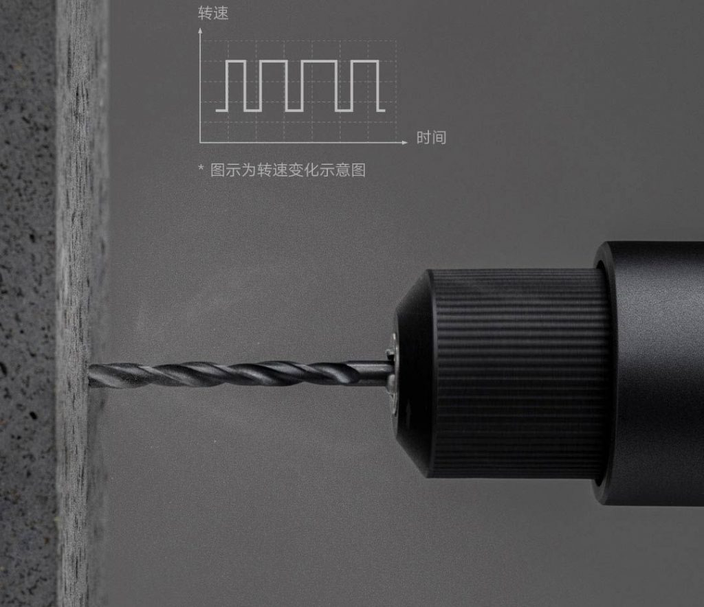 Xiaomi MIJIA Brushless Smart Home Electric Drill - elektrická vrtačka