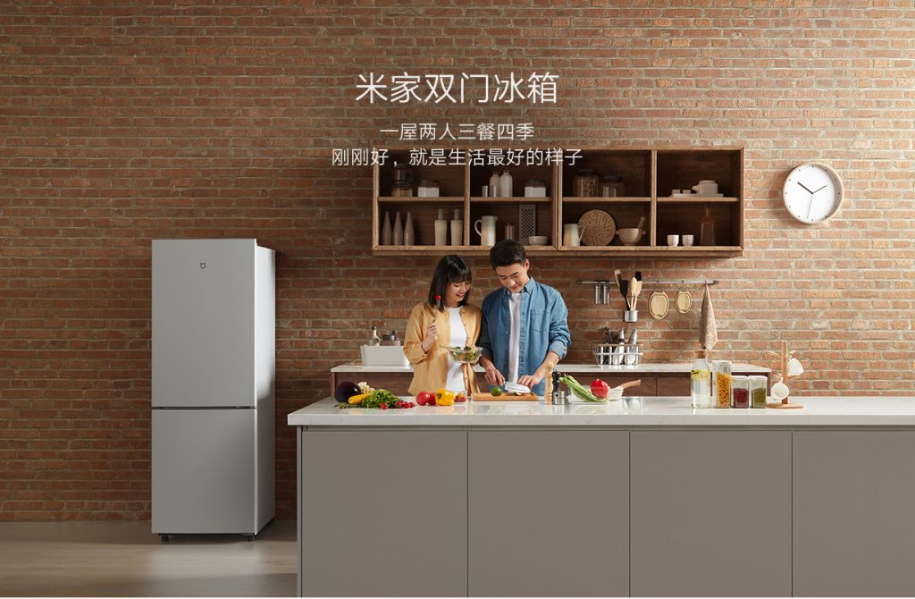 Xiaomi MIJIA Double-door Refrigerator 185L - lednička