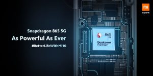 Xiaomi Mi 10 má Snapdragon 865