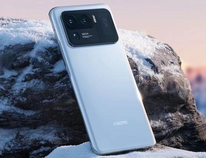 Bílý Xiaomi Mi 11 Ultra