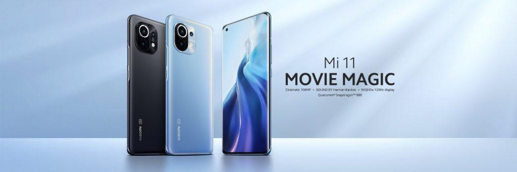 """Xiaomi Mi 11 šel na trh se sloganem """"Movie Magic"""""""