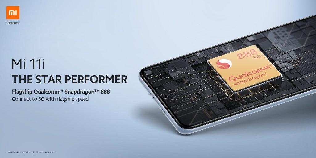Xiaomi Mi 11i pohání Snapdragon 888