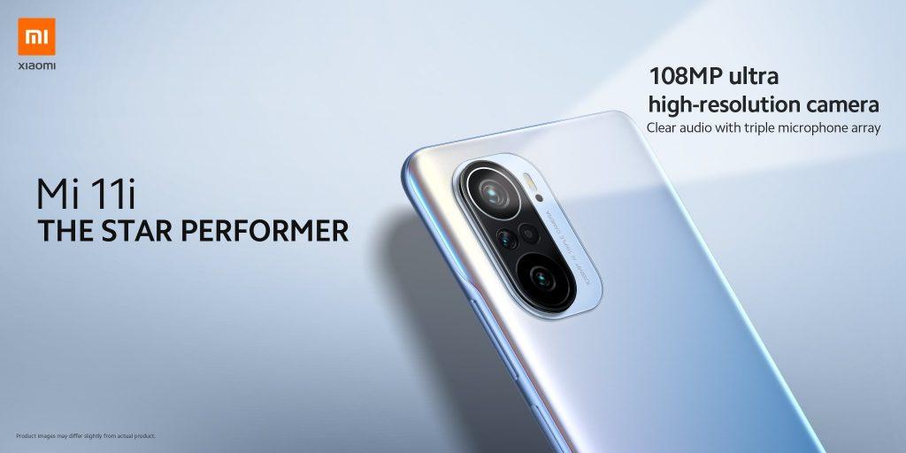 Xiaomi Mi 11i se 108Mpx foťákem