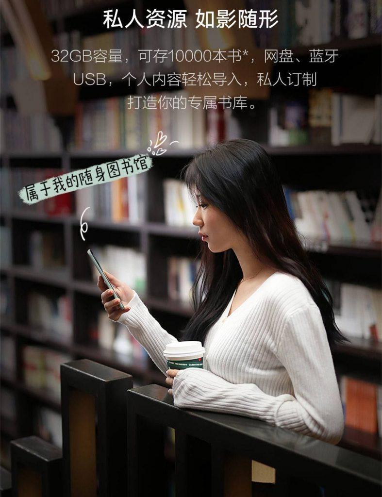Xiaomi inkPalm 5 mini - čtečka elektronických knih
