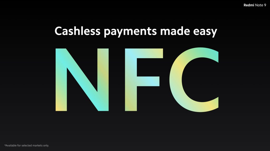 Zatímco Redmi Note 9 má NFC, Redmi Note 10 nikoli