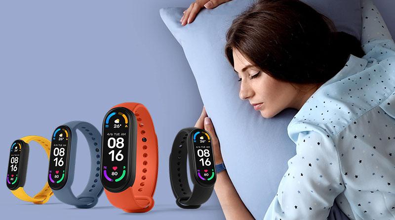 Náramek Xiaomi Mi Band 6 změří, zda během spánku dobře dýcháte