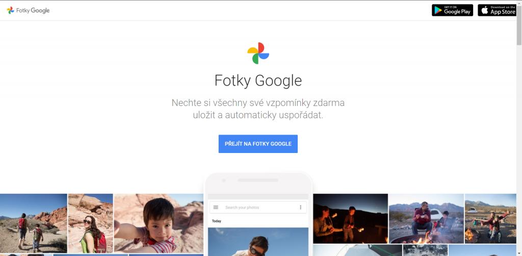 1. června skončí možnost bezplatného zálohování pomocí Fotek Google
