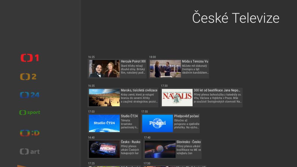 Aplikace České televize