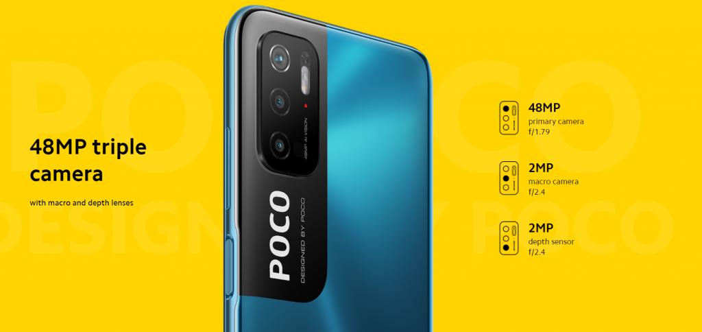 Fotoaparáty Poco M3 Pro
