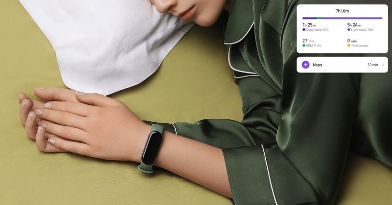Měření spánku náramkem