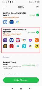 Nepovolit aplikacím automatické spouštění