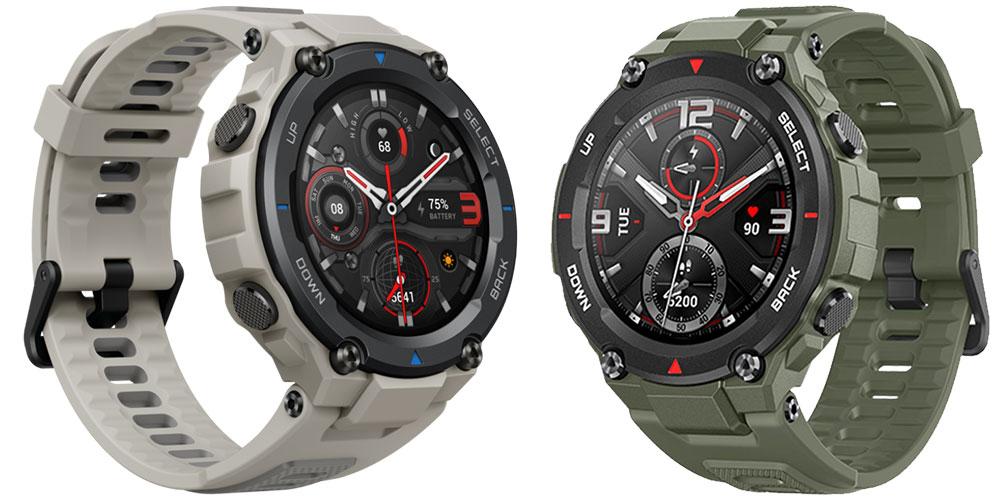 Rozdíly: Amazfit T-Rex Pro vs. Amazfit T-Rex aneb Které hodinky zvolit?