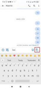 SMS odešlete