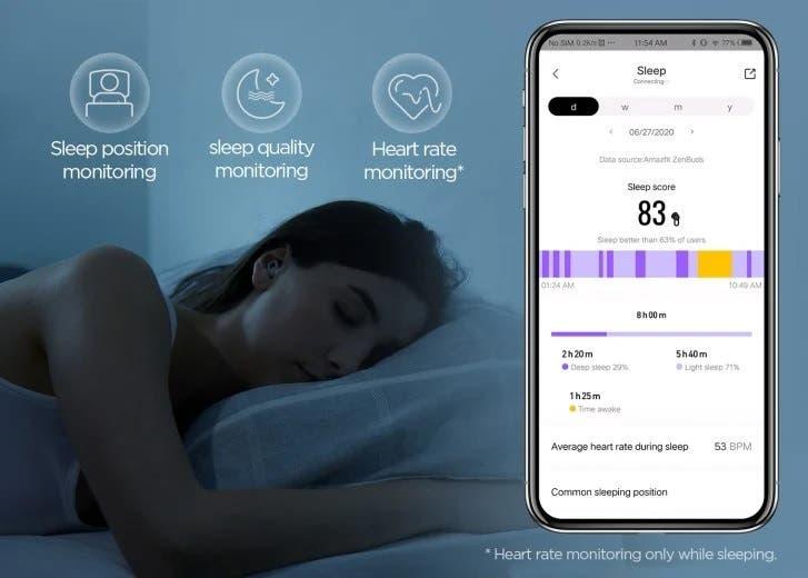 Spánek lze měřit například pomocí sluchátek