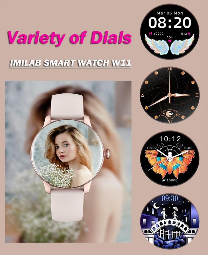 Xiaomi IMILAB W11 - chytré hodinky