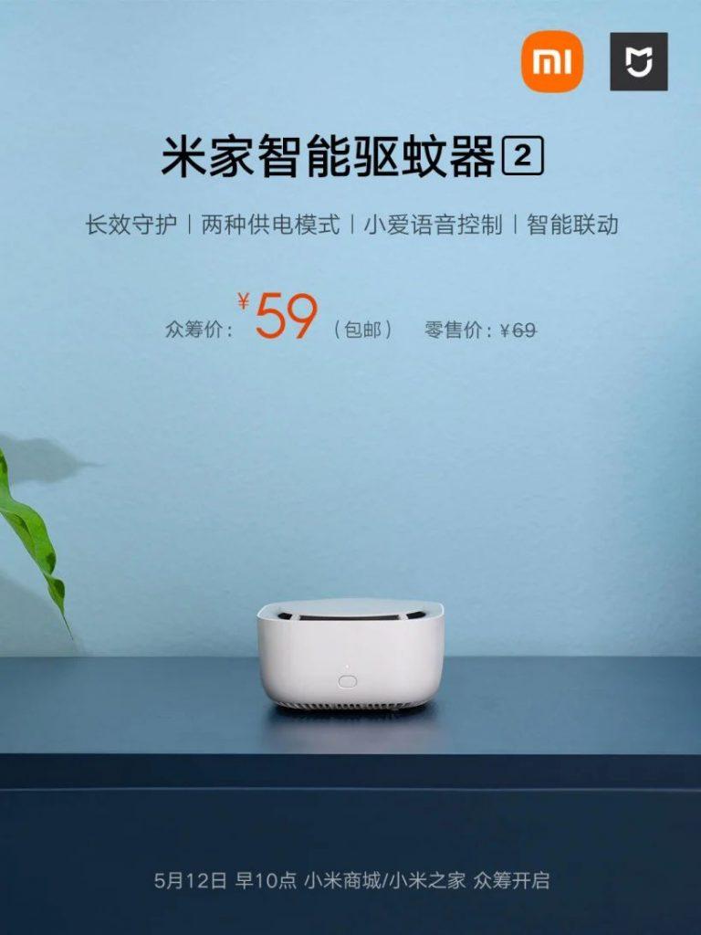 Xiaomi MIJIA Smart Mosquito Repellant 2 - odpuzovač komárů