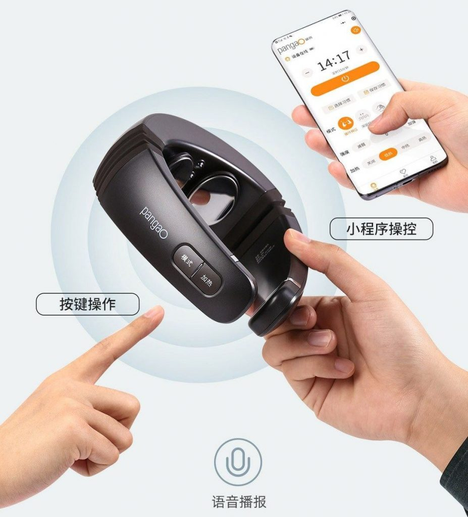 Xiaomi Pangao P6 Cervical Massager - krční masážní přístroj