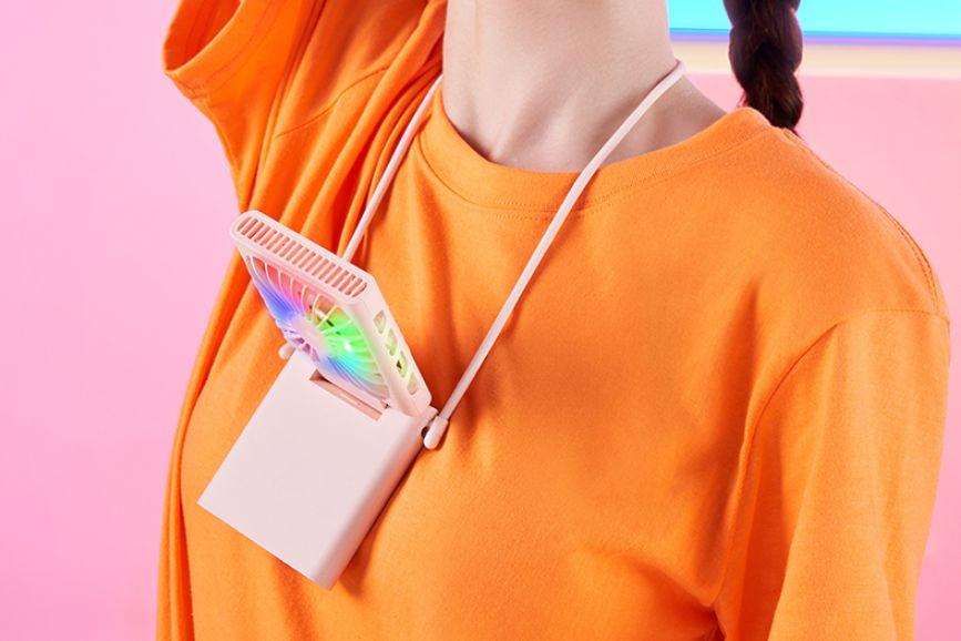 Xiaomi ZMI Hanging Neck Folding Fan - ventilátor na krk
