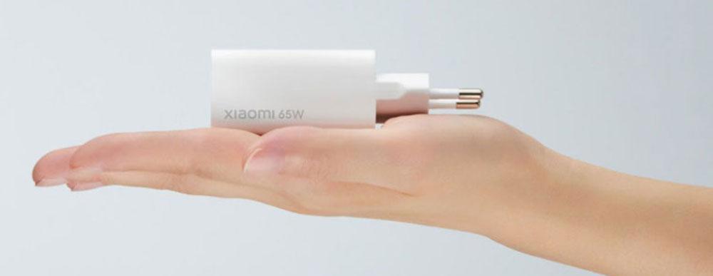 Napájecí adaptér Xiaomi Mi 65W Fast Charger with GaN Tech