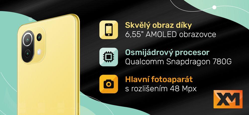 Chytrý telefon Xiaomi Mi 11 Lite 5G
