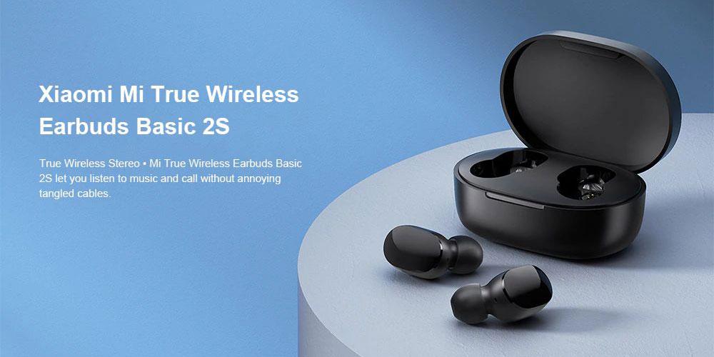 Bezdrátová sluchátka Xiaomi Mi True Wireless Earbuds Basic 2S
